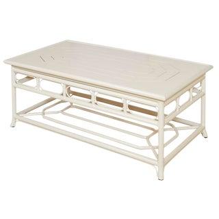 Selamat Designs Regeant 4 Season Winter White Coffee Table