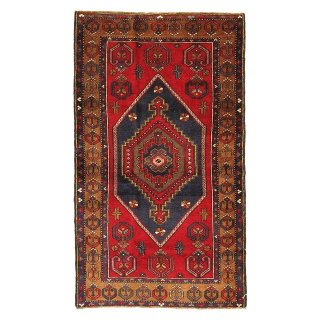 Vintage Turkish Kilim Rug - 3′8″ × 6′3″ - Image 1 of 3