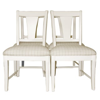 Kincaid Upholstered Wood Dining Chairs - Set of 4