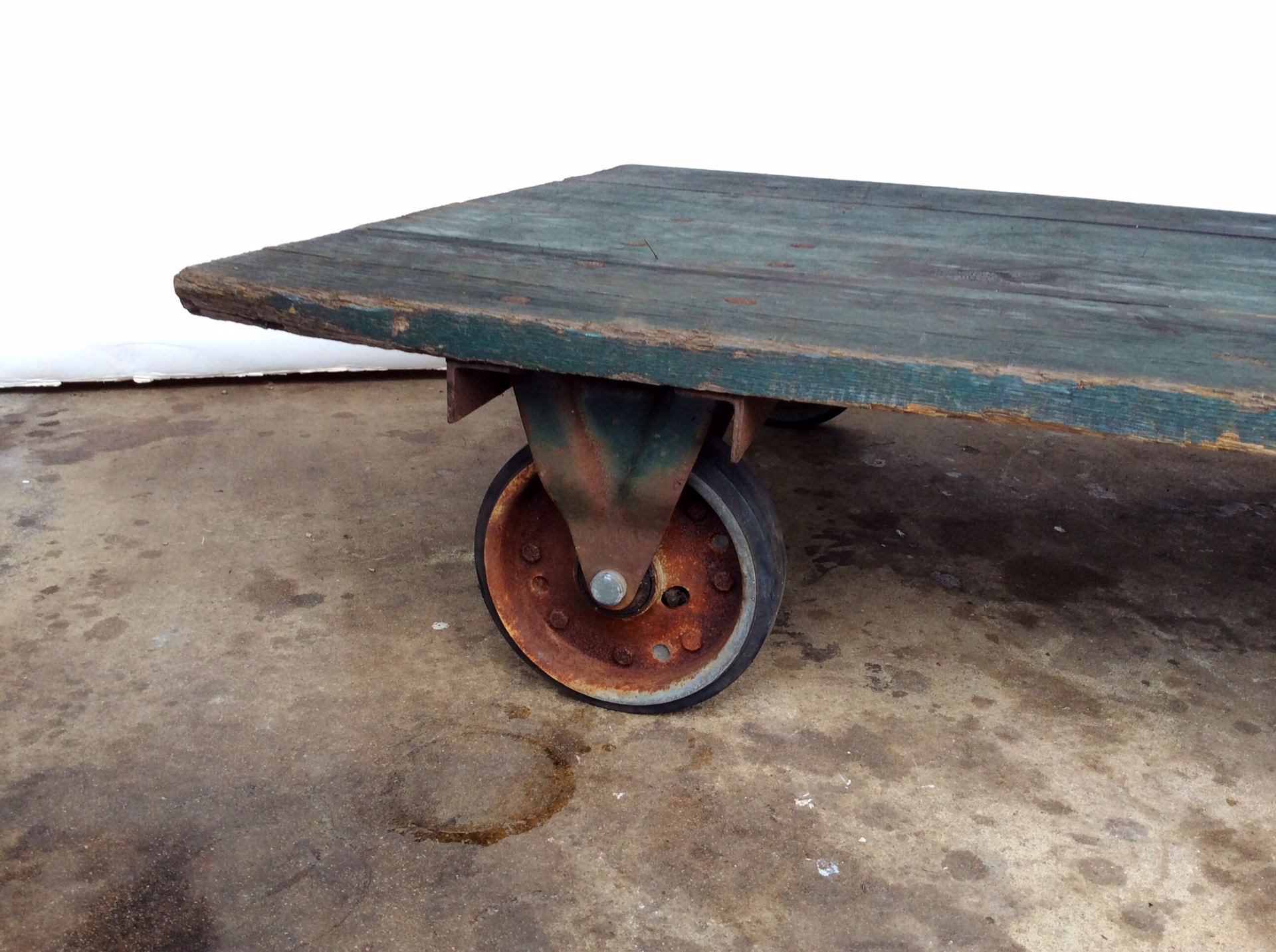 Vintage Railroad Cart Coffee Table Chairish