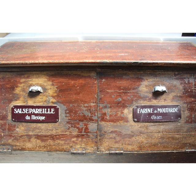 19th-C. French Flour Bin - Image 6 of 8