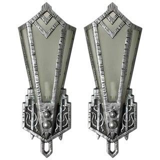Art Deco Sconces - A Pair