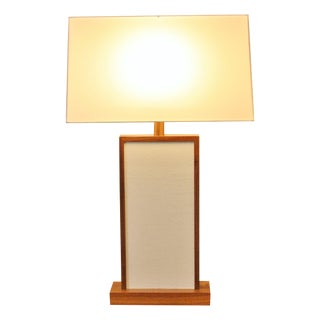 Jk Collection Shagreen Leather Lamp