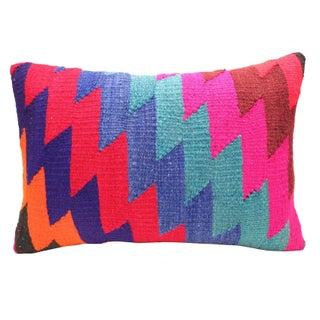 "Vintage Kilim Pillow Multi - 14"" x 20"""