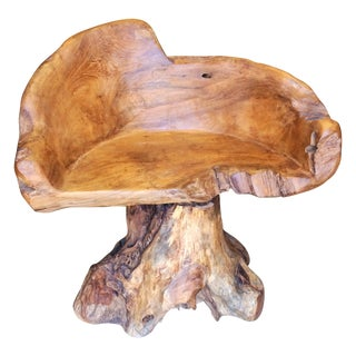 Teak Root Chair