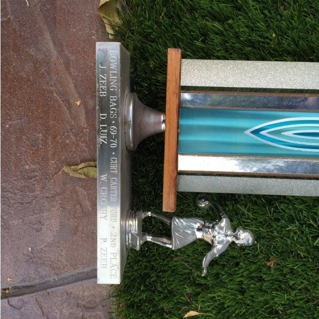 1970's Men's Golf, Women's Bowling Trophies-A Pair - Image 10 of 12
