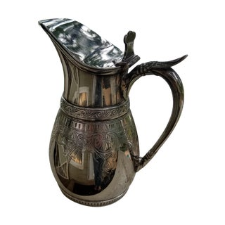 Aesthetic Period Silver American Syrup Jug/Pitcher