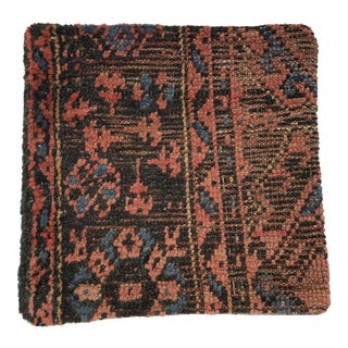 Turkish Wool Rug Fragment Pillow
