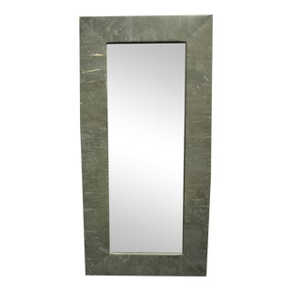 Rectangular Copper Wall Mirror