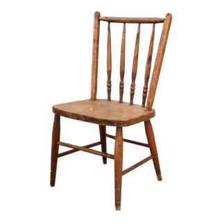 Antique Primitive Wooden Child's Chair