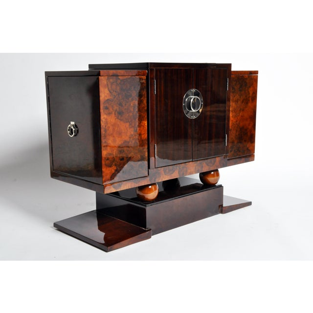 World Class Art Deco Bar Cabinet Decaso