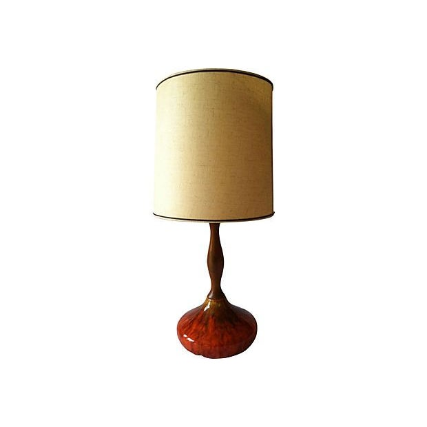 Sunburst Drip Glaze Table Lamp - Image 1 of 4