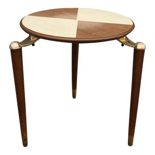 Mid Century Modern Jonken Two-Toned Table/Plant Stand
