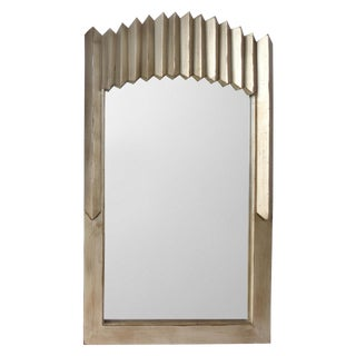 Warm Silver-Gilt Mirror