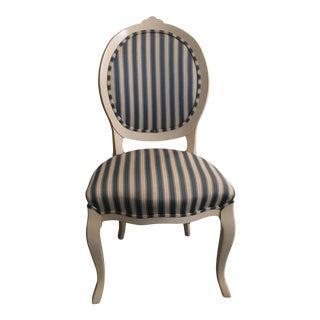 Scandinavian Striped Desk Chair