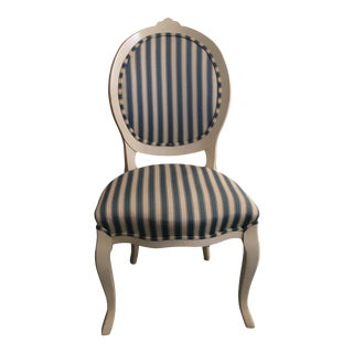 Scandinavian Striped Desk Chair