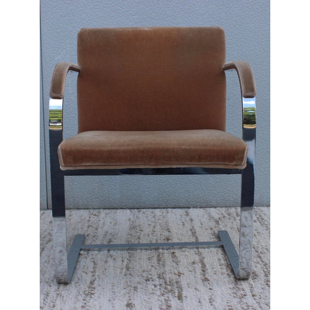 1970 39 S Mies Van Der Rohe For Thonet Chairs Set Of 2