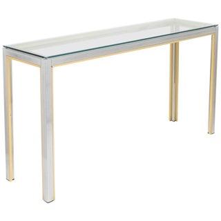 Romeo Rega Mid-Century Console Table