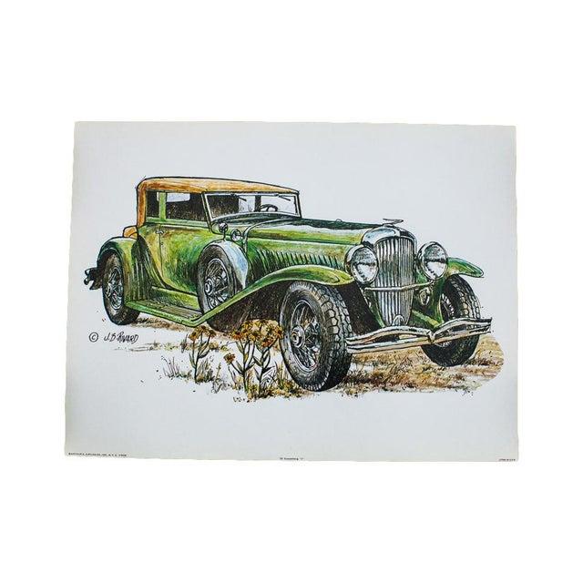 Duesenberg Car Vintage Lithograph - Image 1 of 4
