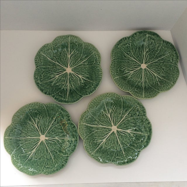 Lettuce Ware Plates - Set of 4 - Image 4 of 6