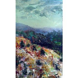 Modernist Mountain Landscape Painting
