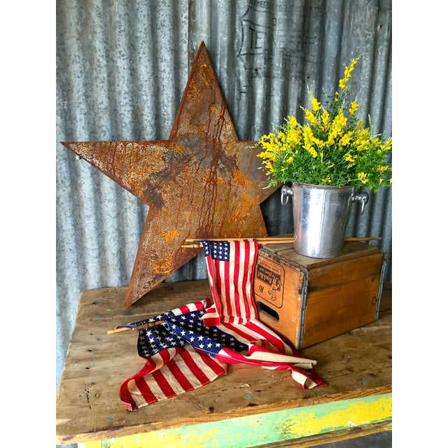 Handcrafted 3D Metal Star - Image 9 of 10