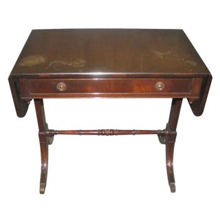 Duncan Phyfe Occasional Drop-Leaf Table