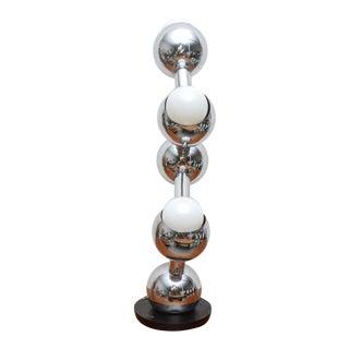 Robert Sonneman Atomic Table Lamp, 1950s, USA