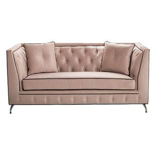 Bella Tufted Sofa Loveseat