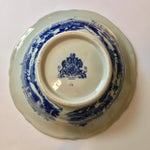 Image of Victoria Ware Blue Town Ironstone Bowl