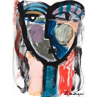 "Lesley Grainger ""Love Anyway"" Original Face Painting"