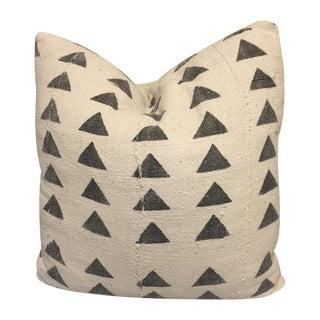 Mali Mudcloth Pillow, Triange, 18x18