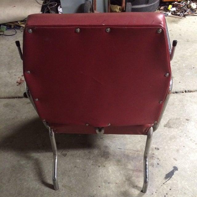 Vintage Reclining Salon Shampoo Chair - Image 5 of 7