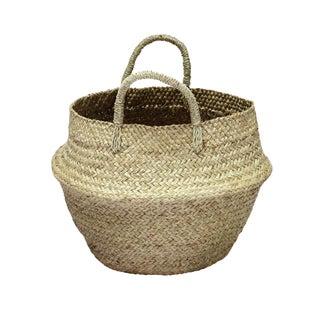 Natural Double Woven Balinese Sea Grass Basket