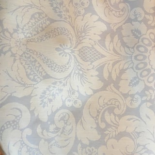 Scalamandre Damask Wallpaper Rolls - Set of 3