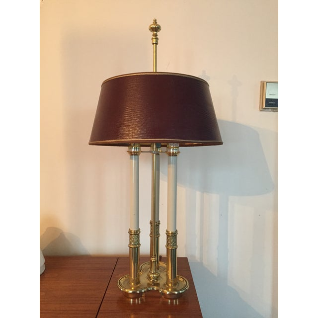 Image of Stiffel Bouillotte Candle Desk Lamp