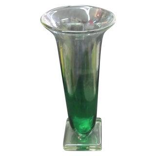 Swedish Vintage Carl Erickson Art Glass Vase