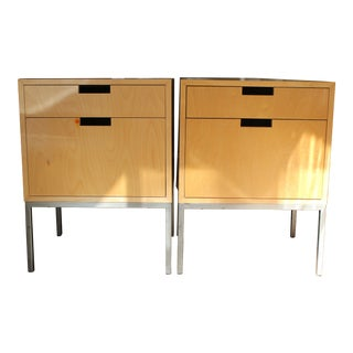 Mid-Century Modern Nightstands - A Pair