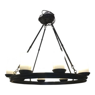 Pottery Barn Veranda 8-Light Iron Chandelier