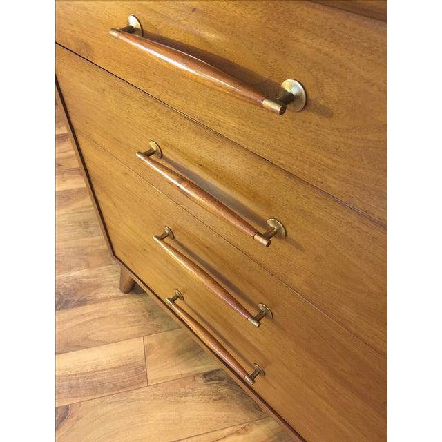 Heritage Henredon Mid Century Lowboy Dresser - Image 8 of 11