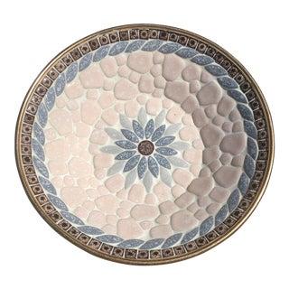 Mid-Century Mosaic Tiled Bowl