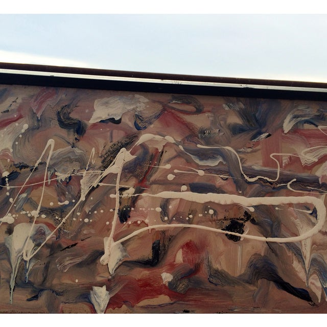 Image of Midcentury Abstract Painting, Bauer 1962