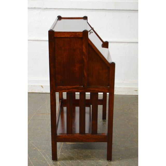 Danner Antique Mission Style Mahogany Slant Lid Writing Desk - Image 3 of 10