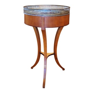 Empire Style Jardiniere with Pierced Gallery