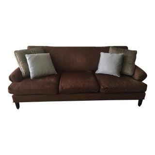 Baker Chenille Sofa