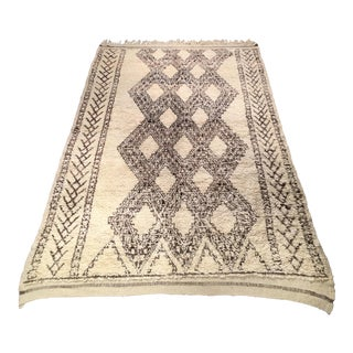 Authentic Beni Ourain Rug - 11' X 6'6""