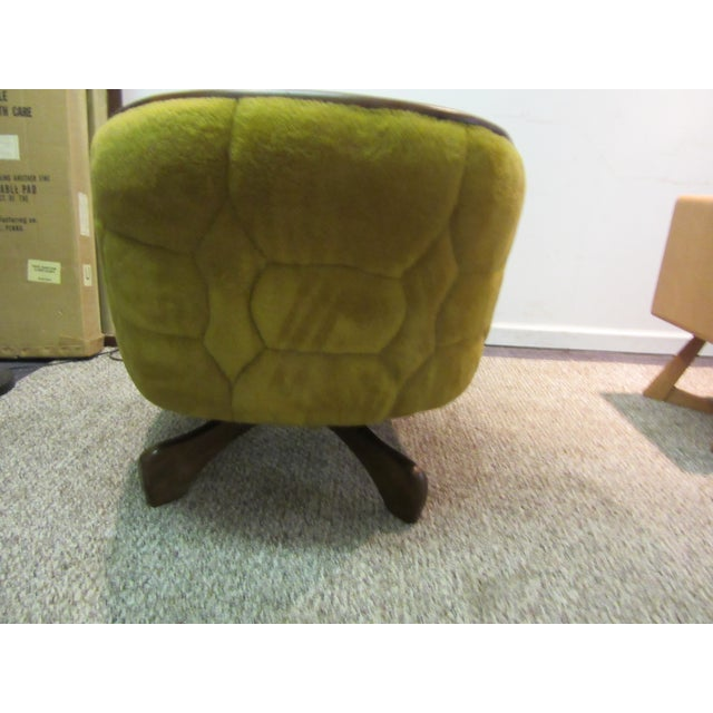 Mid Century Danish Modern Swivel Club Chair Chairish