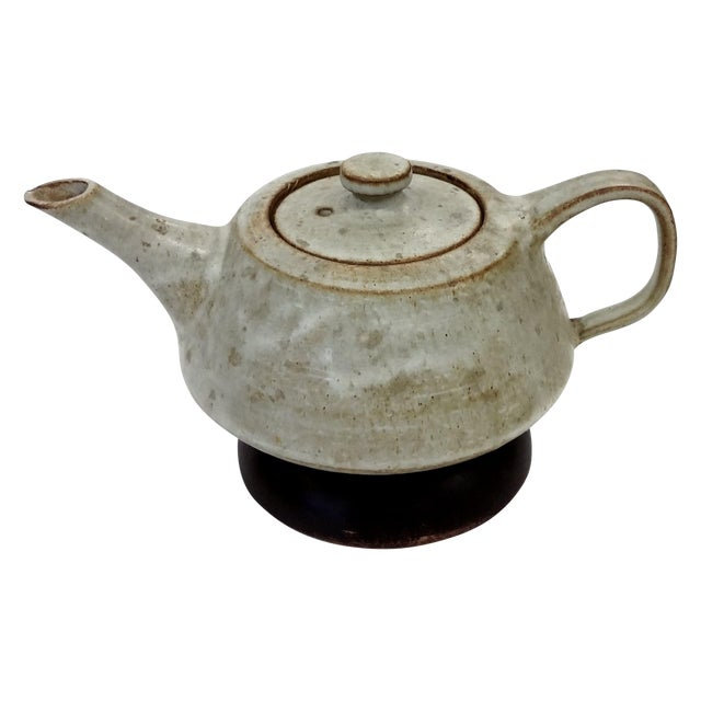 Artisan Stoneware Tea Pot - Image 1 of 10