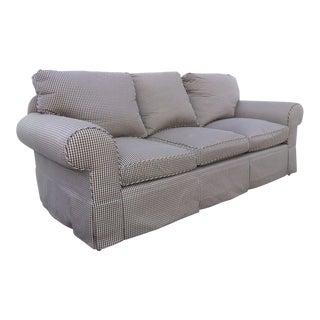 Glabman Furniture Plaid 3 Seater Sofa