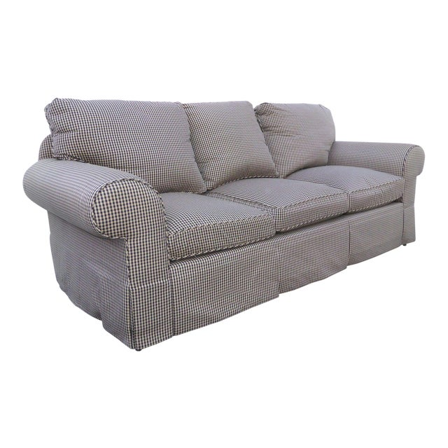Glabman Furniture Plaid 3 Seater Sofa - Image 1 of 11